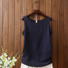 Sleeveless Female Vintage Tank Tops