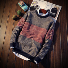 Simple Stitching Casual Men's Sweaters