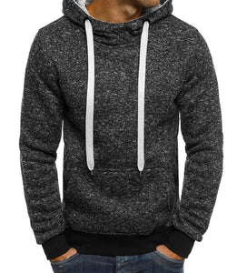 Solid Color Men's Hoodies