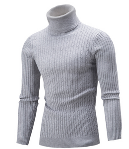 Casual Solid-Color Knitted Simple Sweaters