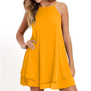 Casual Chiffon Summer Beach Dresses