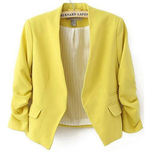Candy Color Female Blazer