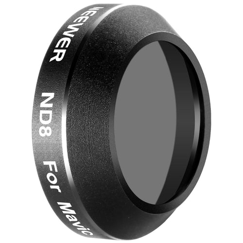 Neewer for DJI Mavic Pro Quadcopter Drone Neutral Density ND8 Lens Filter Lens Protector Optical Glass (MC-16)