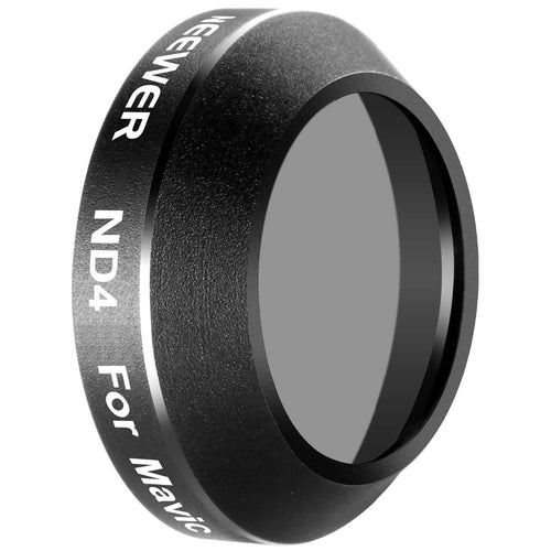 Neewer for DJI Mavic Pro Quadcopter Drone Neutral Density ND4 Lens Filter Lens Protector Aluminum Alloy Frame Optical Glass