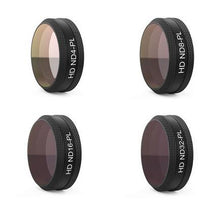 Load image into Gallery viewer, In Stock PGYTECH NEW Filter For DJI MAVIC Air Lens Filters UV CPL ND4 ND8 ND16 ND32 Filter kit MAVIC Air Drone Camera Accessory