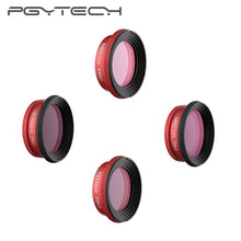 Load image into Gallery viewer, PGYTECH Professional Version Lens filter for DJI Mavic Air UV CPL ND4 ND64PL Filters Pro for DJI Mavic Air Drone Camera Filter