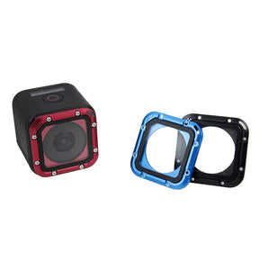 Aluminum Frame Filter Lens Cap Cover Waterproof Case For Go Pro Hero7 5 Session Gopro 5S 4S Action Sport Camera Accessories kit