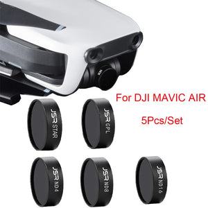 For DJI Mavic Air Drone ND4 ND8 ND16 CPL UV Waterproof Camera Lens Filters Waterproof Camera Lens Filters M.16