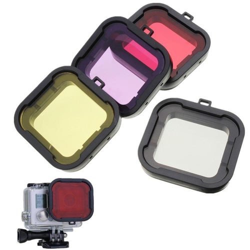 High quality go pro Underwater Diving Filter Lens Cover UV Filter for GoPro Hero 4 3+ Action Camera