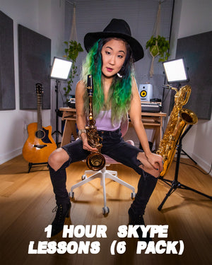 (6-Pack) Skype Lessons (1-hour each)