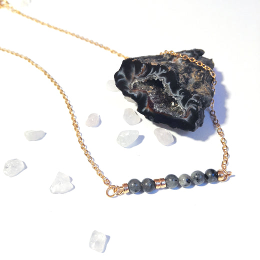 Collier GAÏA Labradorite - DNA