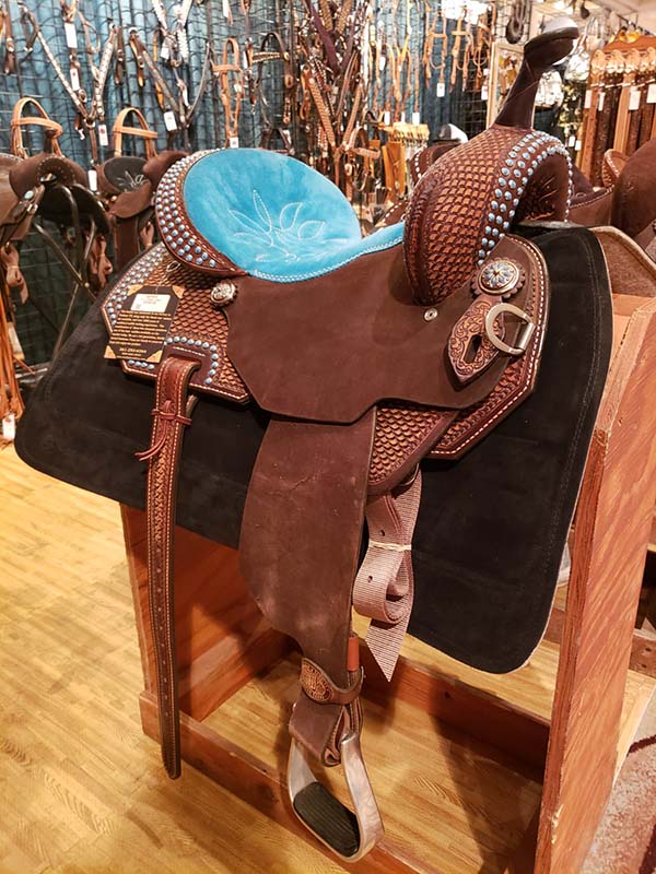 western saddles and tack from Concordia