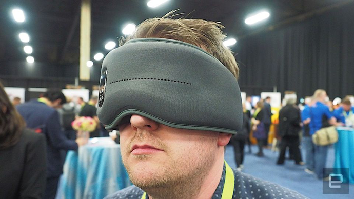 Dreamlight's smart eye mask is designed to help you sleep