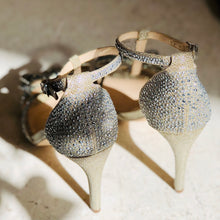 Load image into Gallery viewer, INC INTERNATIONAL CONCEPTS EMBELLISHED BOW HEELS