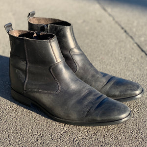 BASE LONDON BASIL BLACK BOOT
