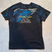 Load image into Gallery viewer, DIESEL FLYING COUGAR TEE SHIRT WASHED OUT BLACK
