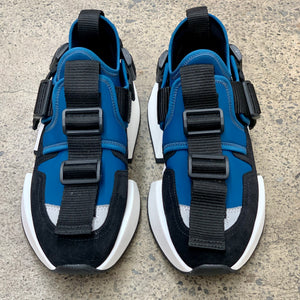 MAISON MARGIELA MM6 SAFETY SNEAKERS BLUE