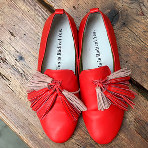 RADICAL YES DHARMA LUCKY SEVEN TASSELS RED