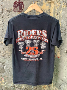 HARLEY DAVIDSON LETS ROLL POCKET TEE GIRLS