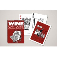 PIATNIK PLAYING CARDS WINE