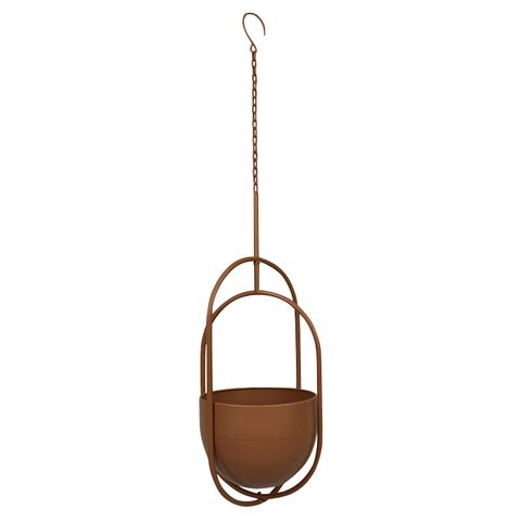 Maarit Hanging Planter - Sage or Rust Coloured