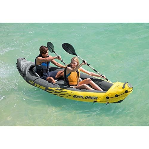 Intex Explorer K2 Kayak, Yellow - TrendyShop México