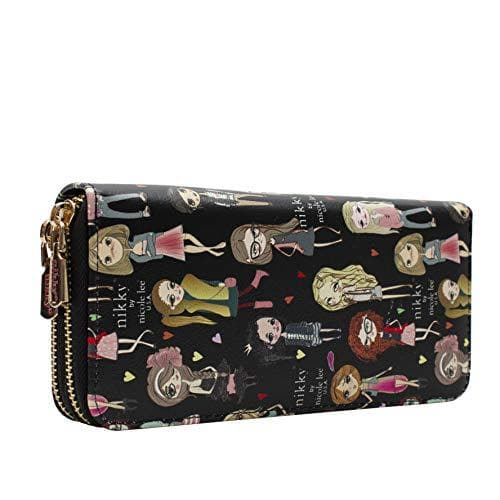 Nikky by Nicole Lee Cartera MORWENNA estampada con zipper doble - TrendyShop México