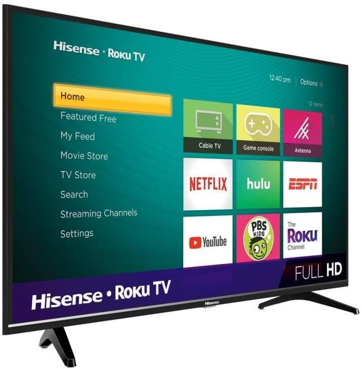 "Hisense Serie 4 40"" Full HD, Smart TV - TrendyShop México"