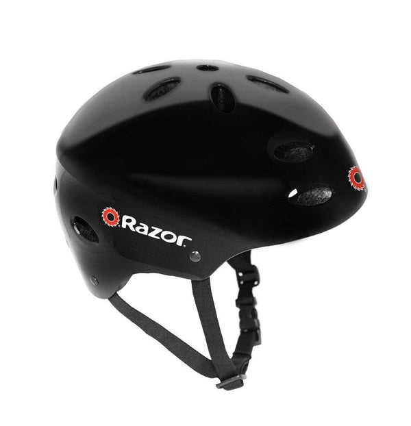 Razor V-17 Youth Multi-Sport Helmet (negro Gloss)