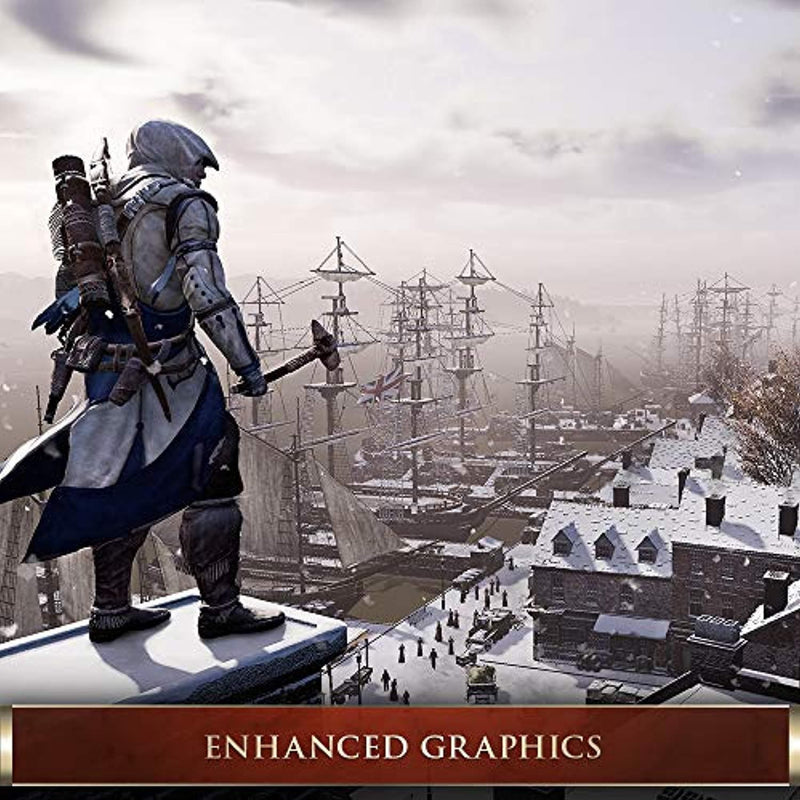 Assassin's Creed III: Remastered - PlayStation 4 - Ultimate Edition - TrendyShop México