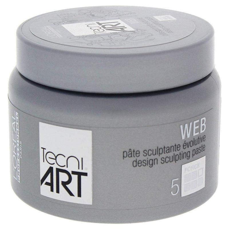 LOreal Tecni Art Force 5 Web Design Sculpting Paste for Unisex Paste 5 oz - TrendyShop México