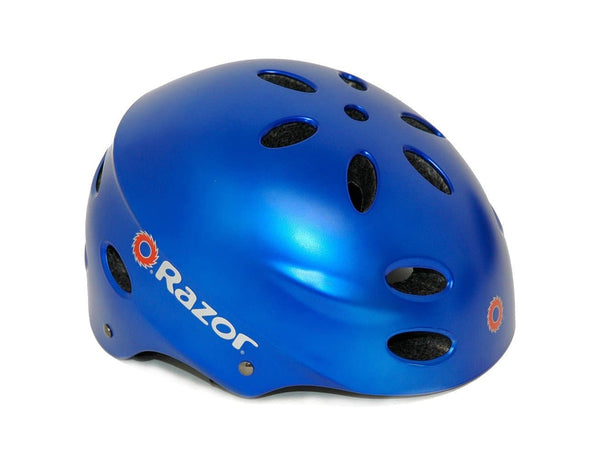 Razor 97782 V-17 Youth Multi-Sport Helmet, Satin Blue