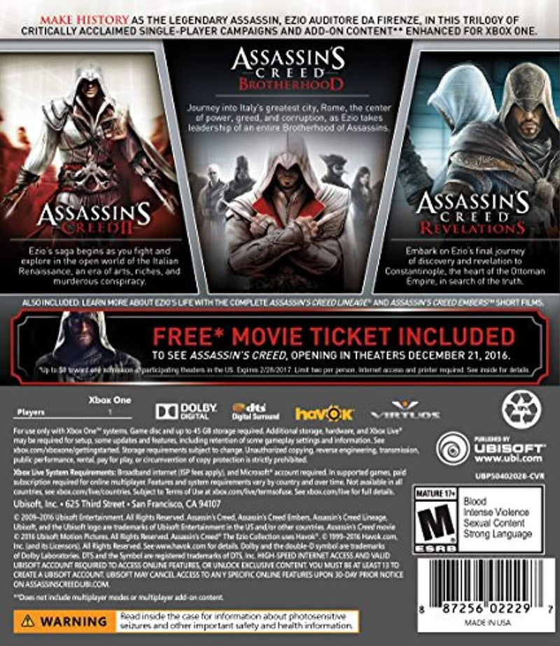 Assassin's Creed: Ezio Collection - TrendyShop México