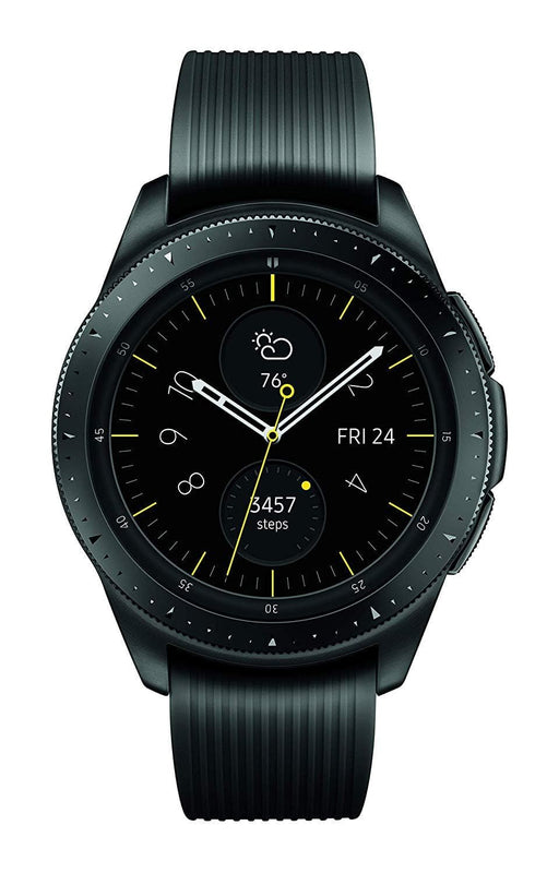 Samsung SM-R810NZKAXAR Galaxy Watch - Reloj Inteligente, Bluetooth, Negro (Midnight Black), 42 mm