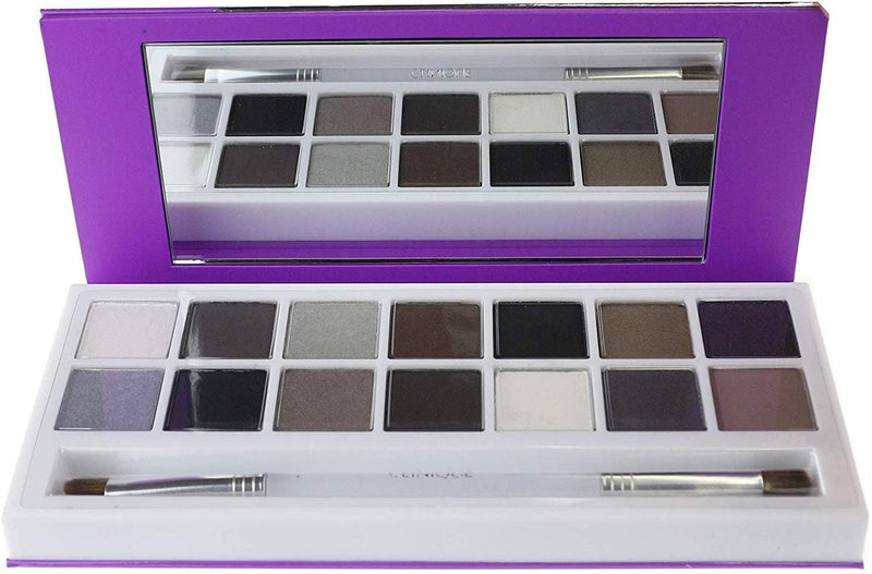 Clinique 2017 Party Eyes - All About Shadow Palette - Set of 14 Shades and Dual-Ended All-Over Brush/Contour Brush - TrendyShop México