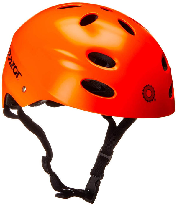 Razor 97265  V-17 Youth Muli-Sport Helmet, Neon Orange