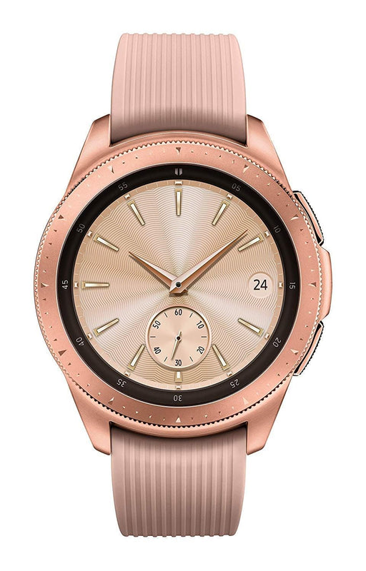 Samsung SM-R810NZDAXAR Galaxy Watch - Reloj Inteligente, Bluetooth, Rosa Dorado (Rose Gold), 42 mm