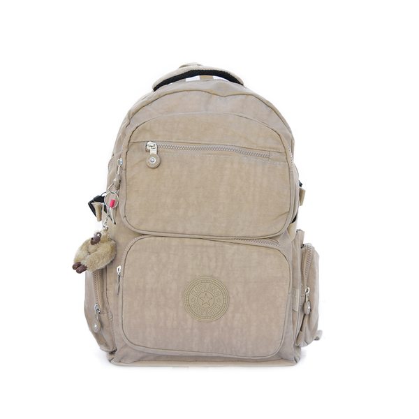 Mochila Kipling College Up Crema