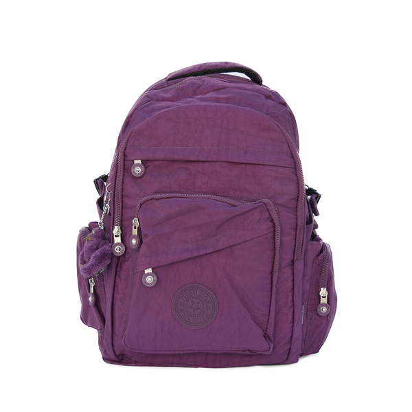 Mochila Kipling College Up Morada