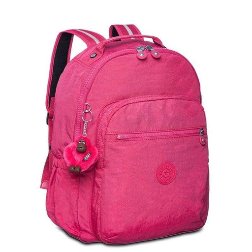 Mochila Kipling College Up Fucsia