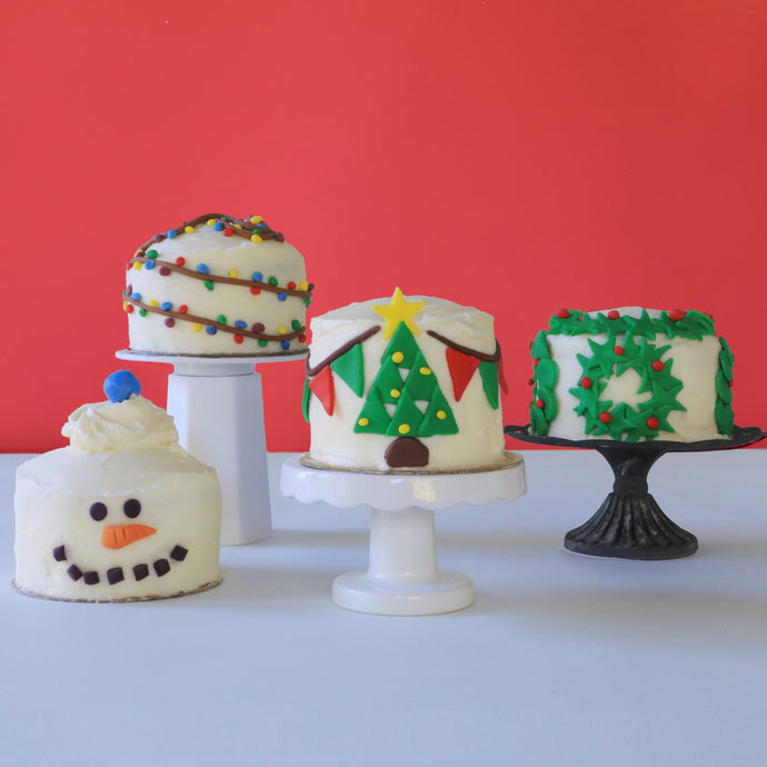 The Easiest Holiday Cake Designs