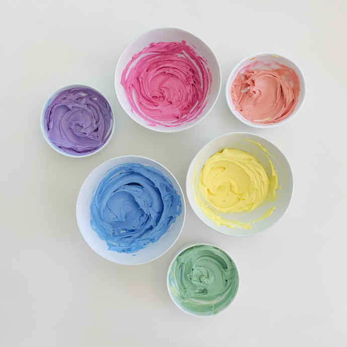 Make Colored Frosting with Natural Food Coloring
