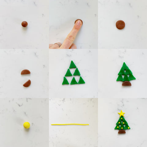 Christmas Tree Cake Step By Step Instructions