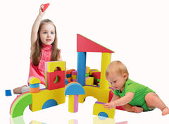 Foam blocks for first birthday party kids activities