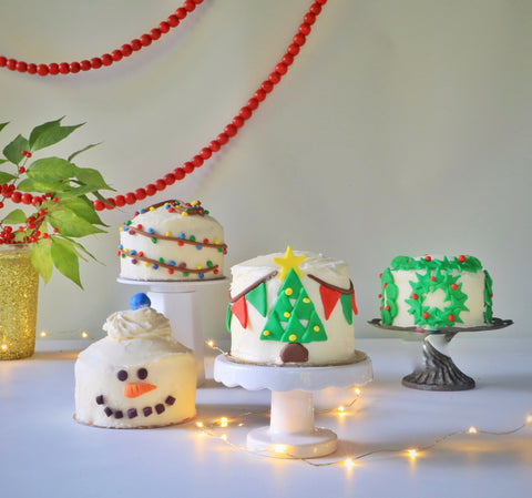 Holiday Mini Cakes