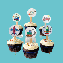 Load image into Gallery viewer, DIY Chocolate Color-in Cupcake Kits
