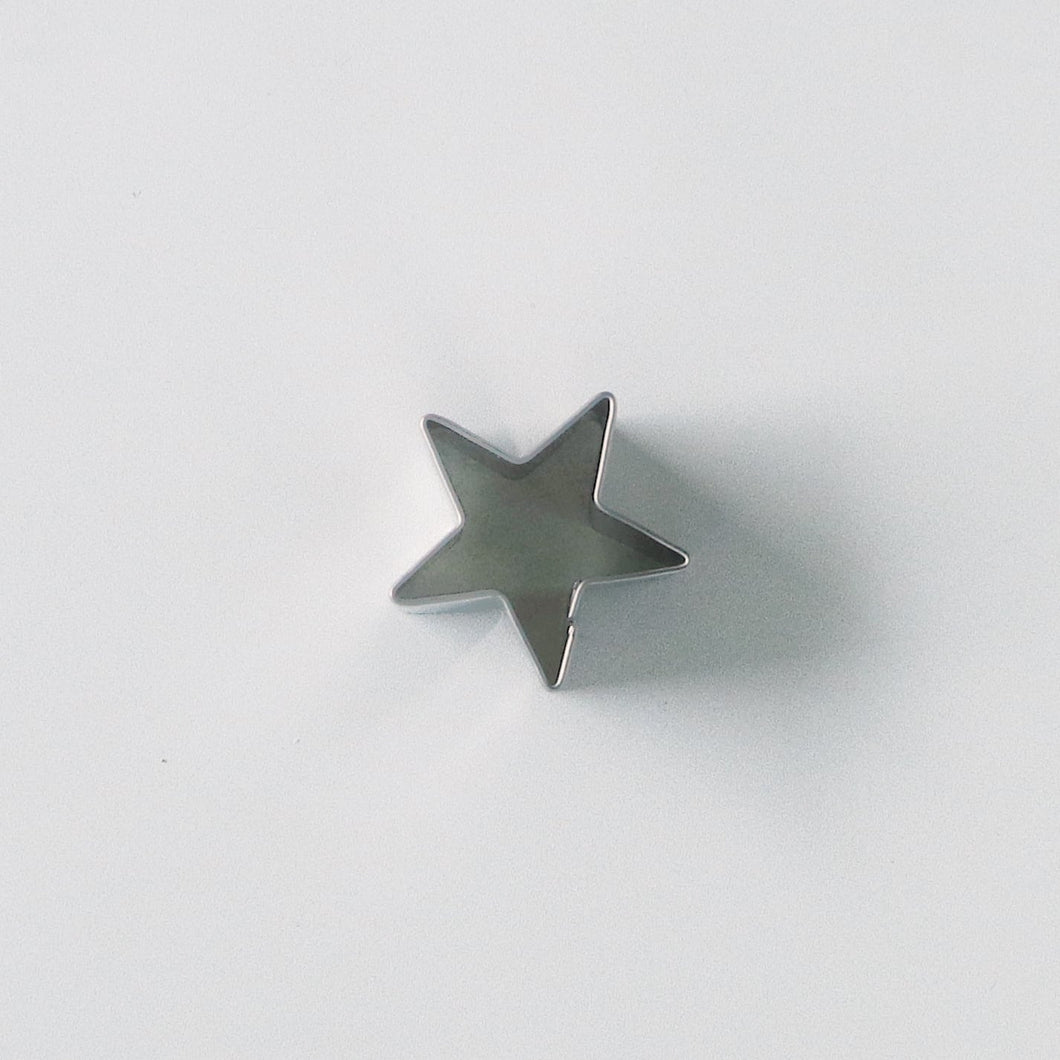 Mini star fondant cutter