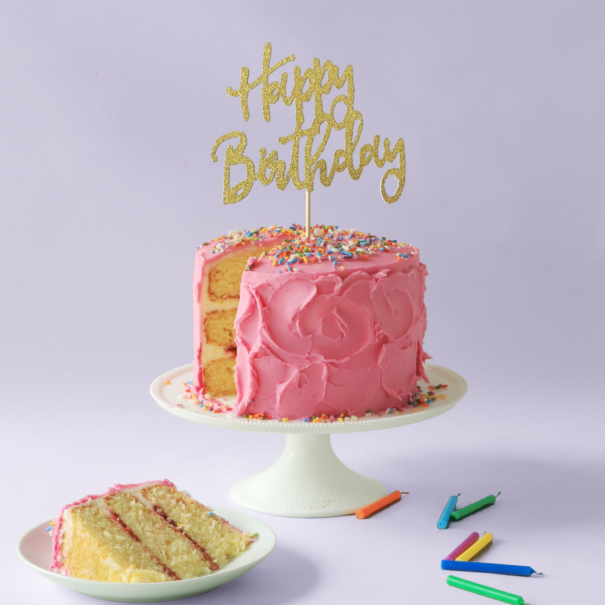 Happy Birthday Cake Topper Birthday Cake Kits Poppikit Poppikit