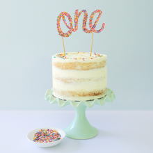 Load image into Gallery viewer, Smash cake kit for baby birthday parties and first birthday cakes