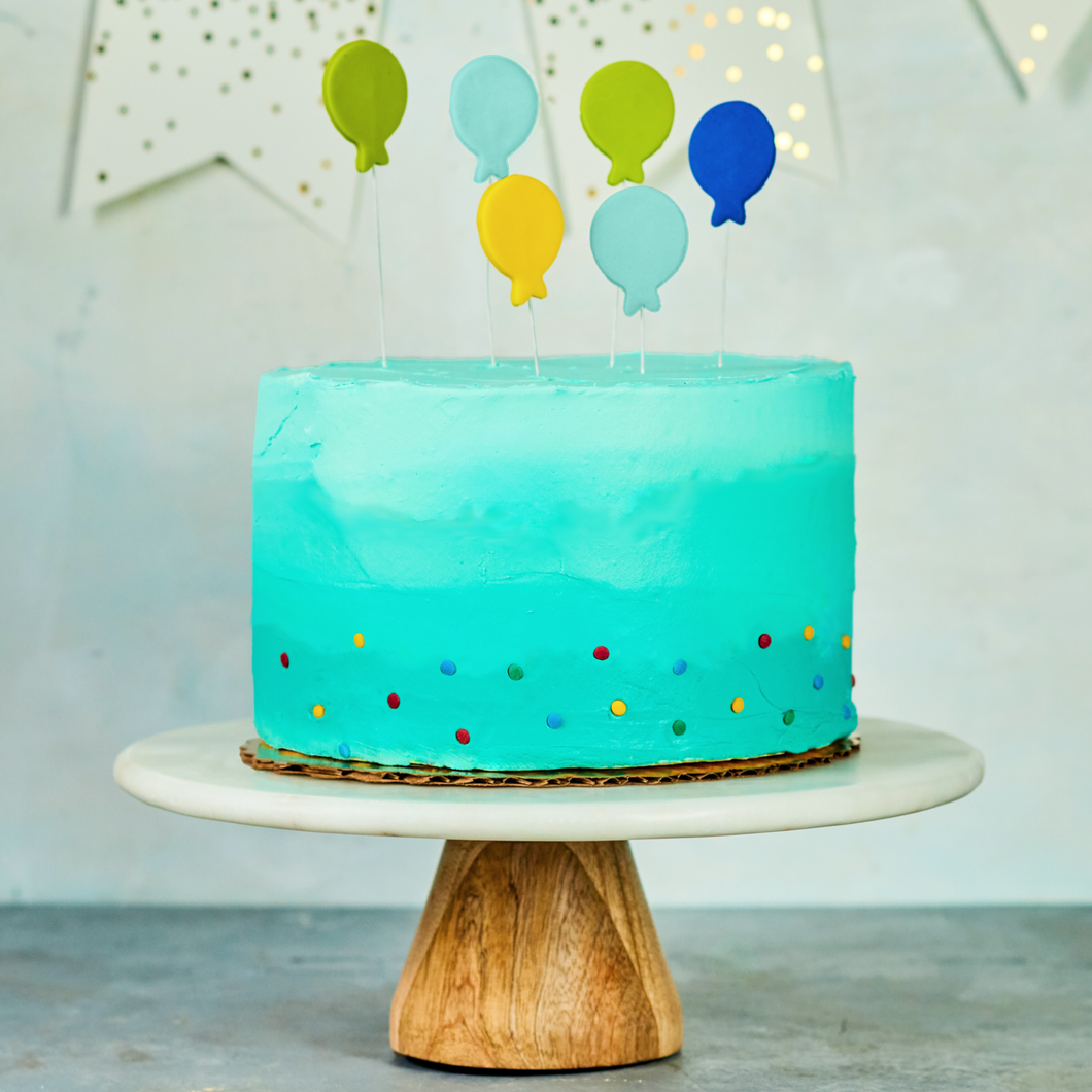 Ombre Cake, Beautiful Birthday Cake